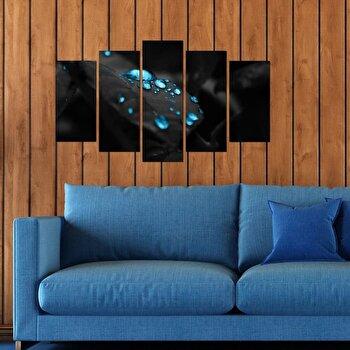 Tablou decorativ multicanvas Pure, 5 Piese, 250PUR2970, Multicolor