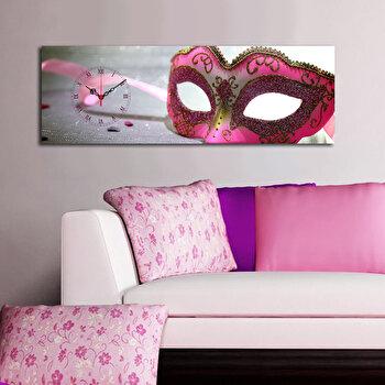 Ceas decorativ de perete Clockity, 248CTY1622, Multicolor de la Clockity