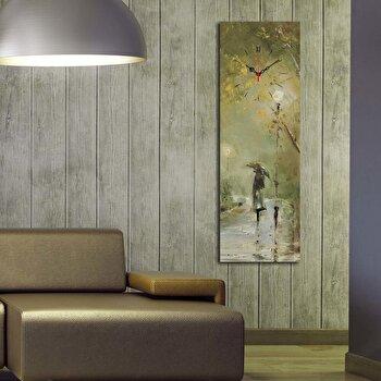 Ceas decorativ de perete Clockity, 248CTY1624, Multicolor
