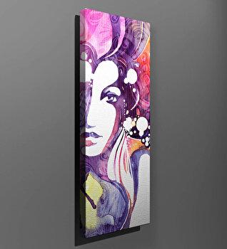 Tablou decorativ pe panza Majestic, 257MJS3263, Multicolor