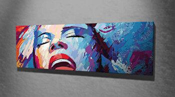 Tablou decorativ pe panza Majestic, 257MJS1322, Multicolor