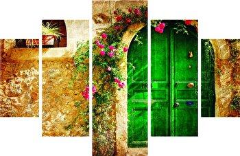 Tablou decorativ multicanvas Destiny, 5 Piese, 247DST1902, Multicolor de la Destiny