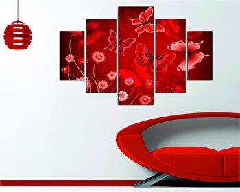 Tablou decorativ multicanvas Destiny, 5 Piese, 247DST1907, Multicolor de la Destiny