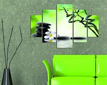 Tablou decorativ multicanvas Destiny, 5 Piese, 247DST1922, Multicolor