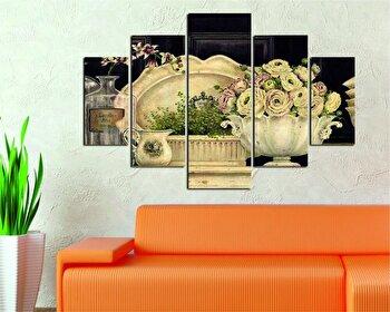 Tablou decorativ multicanvas Destiny, 5 Piese, 247DST1981, Multicolor