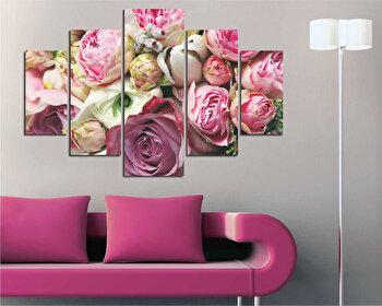 Tablou decorativ multicanvas Destiny, 5 Piese, 247DST2902, Multicolor
