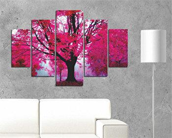 Tablou decorativ multicanvas Destiny, 5 Piese, 247DST2905, Multicolor