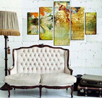 Tablou decorativ multicanvas Miracle, 5 Piese, 236MIR1944, Multicolor