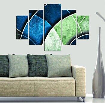 Tablou decorativ multicanvas Miracle, 5 Piese, 236MIR1946, Multicolor