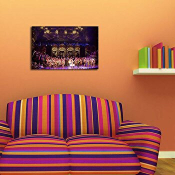 Tablou decorativ pe panza Canvart, 249CVT1358, Multicolor