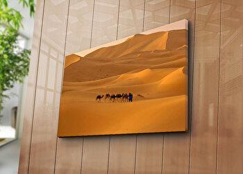 Tablou decorativ pe panza Horizon, 237HRZ5326, Multicolor