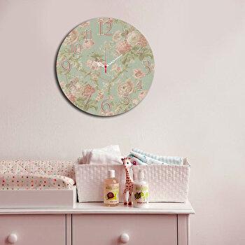 Ceas decorativ de perete Home Art, 238HMA3111, 40 cm, Multicolor de la Home Art