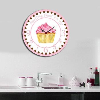 Ceas decorativ de perete Home Art, 238HMA3113, 40 cm, Multicolor de la Home Art