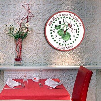 Ceas decorativ de perete Home Art, 238HMA3115, 40 cm, Multicolor de la Home Art
