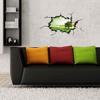 Sticker decorativ de perete Wall 3D, 259DWL1003, Multicolor de la Wall 3D