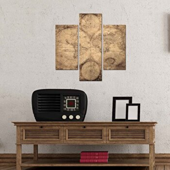 Tablou decorativ Multicanvas Three Art, 3 Piese, 251TRE1907, Multicolor de la Three Art