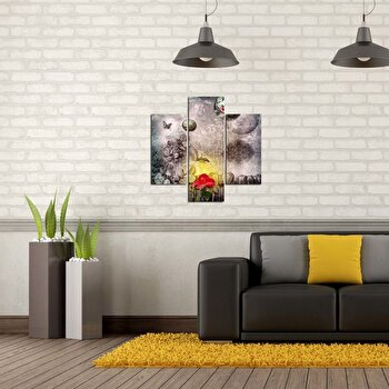 Tablou decorativ Multicanvas Three Art, 3 Piese, 251TRE1908, Multicolor de la Three Art