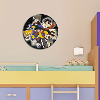 Tablou decorativ multicanvas Taffy, 241TFY1931, 40 cm, Multicolor