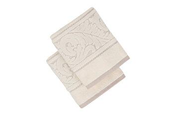 Set doua prosoape de maini, Hobby, 317HBY2259, Alb de la Hobby