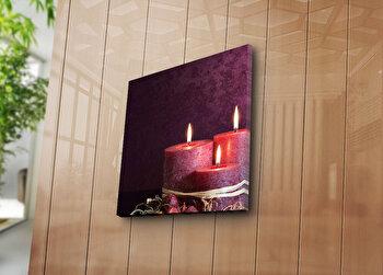 Tablou decorativ Bonanza, 242BNZ1210, 45 x 45 cm, Multicolor