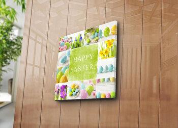 Tablou decorativ pe panza Sightly, 252SGH1367, 45 x 45 cm, Multicolor