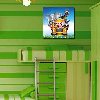 Tablou decorativ Taffy, 241TFY1211, 45 x 45 cm, Multicolor
