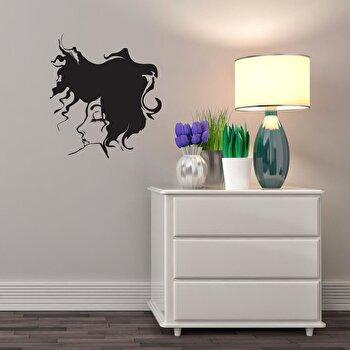 Sticker decorativ de perete Sticky, 260CKY5001, Negru de la Sticky