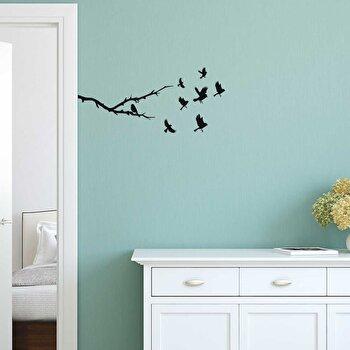 Sticker decorativ de perete Sticky, 260CKY5005, Negru de la Sticky