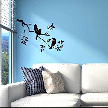 Sticker decorativ de perete Sticky, 260CKY5013, Negru