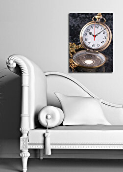 Ceas decorativ de perete Clock Art, 228CLA1630, Multicolor