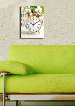 Ceas decorativ de perete Clock Art, 228CLA1632, Multicolor