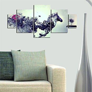 Tablou decorativ multicanvas Dilly 5 Piese, 222DLY1985, Multicolor de la Dilly