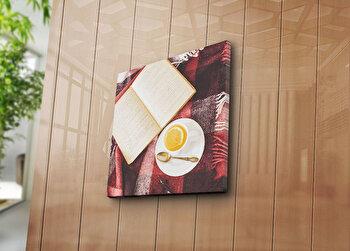 Tablou decorativ pe panza Canvart, 249CVT1217, 45 x 45 cm, Multicolor