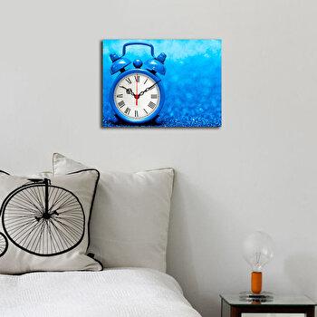 Ceas decorativ de perete Clockity, 248CTY1609, Multicolor de la Clockity