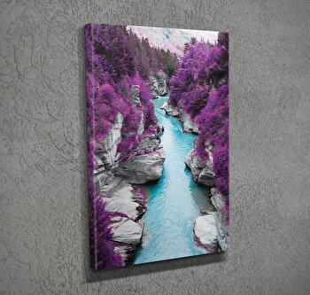 Tablou decorativ pe panza Majestic, 257MJS1307, Multicolor