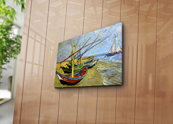 Tablou decorativ pe panza Horizon, 237HRZ3213, Multicolor