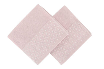 Set doua prosoape de maini, Soft Kiss, 330SFT1232, Roz de la Soft Kiss