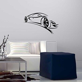 Sticker decorativ de perete Sticky, 260CKY1053, Negru