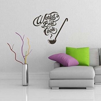 Sticker decorativ de perete Sticky, 260CKY1078, Negru