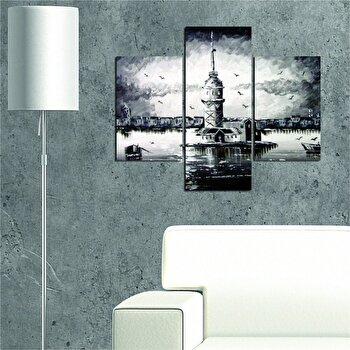 Tablou decorativ multicanvas Allure 3 Piese, 221ALL1912, Multicolor de la Allure