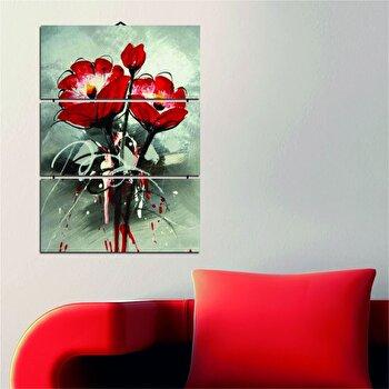 Tablou decorativ multicanvas Dilly 3 Piese, 222DLY1945, Multicolor