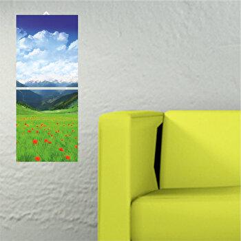 Tablou decorativ multicanvas Allure, 2 Piese, 221ALL1905, Multicolor de la Allure