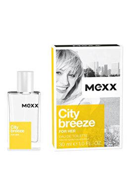 Apa de toaleta Mexx City Breeze, 30 ml, pentru femei de la Mexx