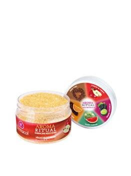Scrub pentru corp Aroma Ritual cu Mere si Scortisoara, 200 g de la Dermacol