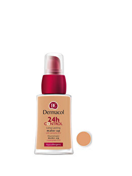 Fond de ten Dermacol 24 H Control Make-up cu Q10, 2k, 30 ml de la Dermacol