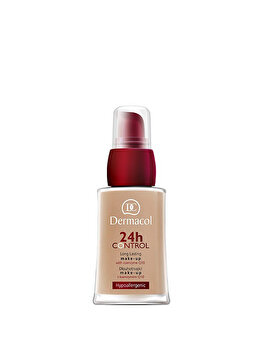 Fond de ten Dermacol 24 H Control Make-up cu Q10, 4k, 30 ml de la Dermacol