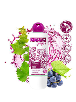 sampon Viorica Grapes Antioxidant si Keratina, 300 ml de la Viorica