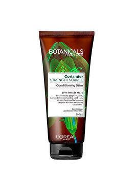 Balsam fortifiant Botanicals Fresh Care cu ulei de coriandru pentru par fragil, 200 ml de la Botanicals
