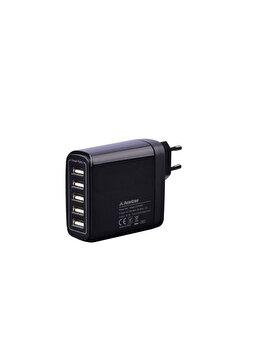 Incarcator de retea Avantree PowerTrek, CGTR-604-EU-BLK, 5 x Smart USB, 48W / 9.6A, negru