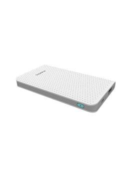 Acumulator extern Romoss, PHP05-401-02, Sense mini, 5000 mAh, Ultra Slim, Alb de la Romoss